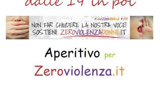22 novembre: sosteniamo zeroviolenzadonne.it