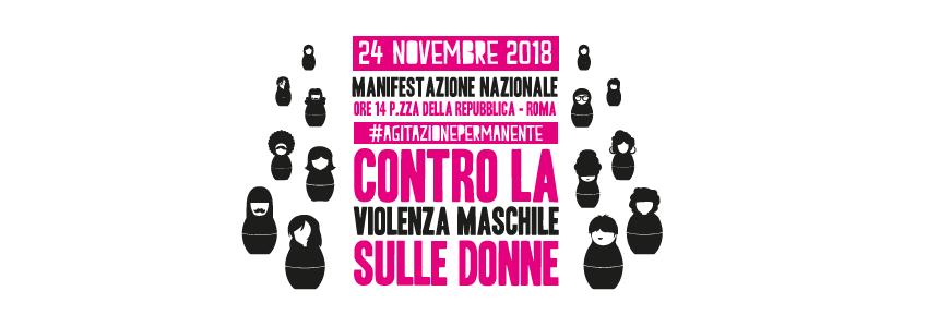 24 Novembre: Manifestazione Nonunadimeno contro la violenza maschile sulle donne