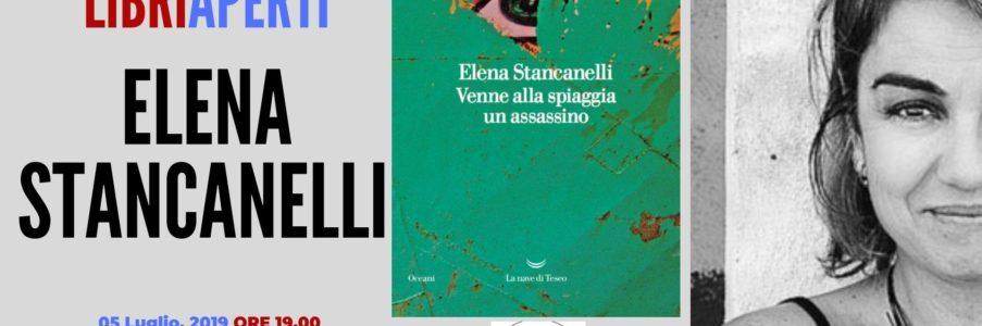 Elena Stancanelli presenterà il suo ultimo libro Venne alla spiaggia un assassino