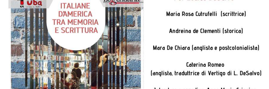 Italiane d'America tra memoria e scrittura