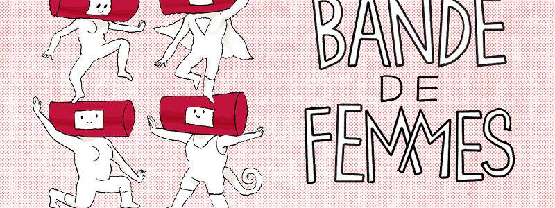 Torna il festival del fumetto Bande de Femmes dal 5 all'8 dicembre SOLO online