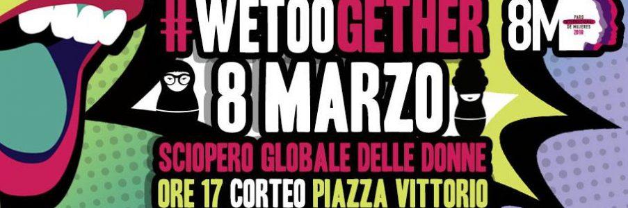 8 marzo Sciopero delle donne