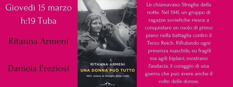 15 marzo Una donna può tutto di Ritanna Armeni