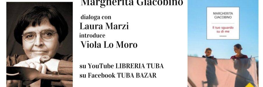 7 marzo presentazione Il tuo sguardo su di me di Margherita Giacobino