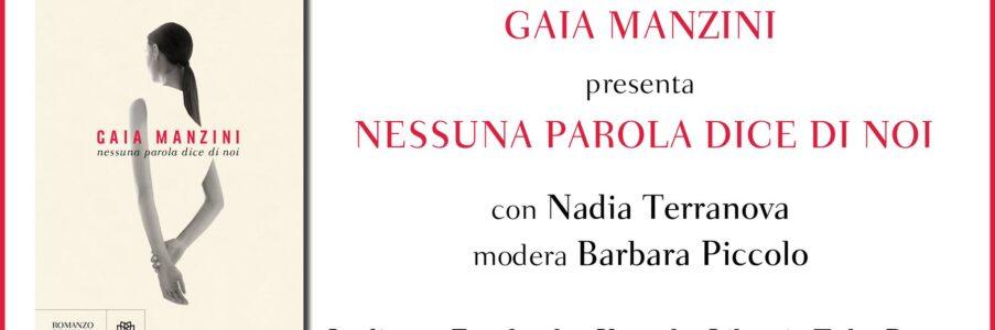 Presentazione di Nessuna parola dice di noi di Gaia Manzini